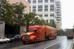Reliable Carriers at the Nascar Hall of Fame