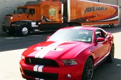 Reliable Carriers Delivers A 2011 GT500 from North Carolina to Canton Michigan