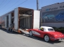 Reliable Carriers Laoding '58 Vette for Transport