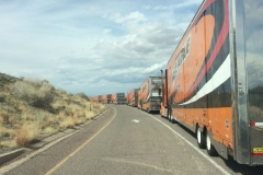 Delivering Tour in New Mexico