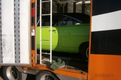 Reliable Carriers transport Superbird to Kuwait Concours d'Elegance February 2012