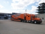 Unloading at Gasoline Alley @ Indianapolis Speedway